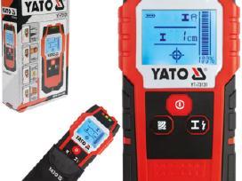 """Metalo, medžio, laidų detektorius """"Yato"""" 42.50€"""