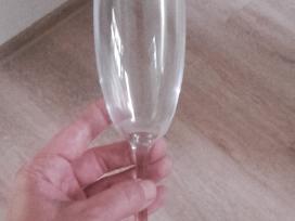 Taurės šampanui čekiško stiklo