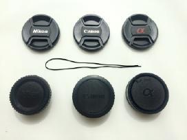Dangteliai Canon Nikon ir Sony objektyvams