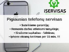 Pigiausias iPhone, Huawei ekranų remontas!