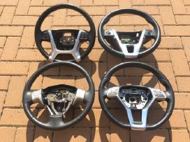 Automobilių vairai Bmw, Volvo, Toyota, Subaru.