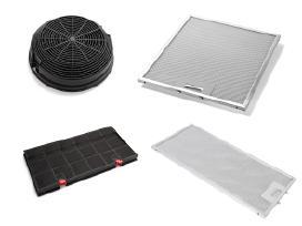 Gartraukių filtrai (anglies, metalo, riebalų)
