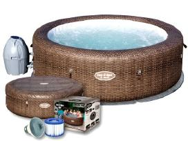 Spa masažinis baseinas džiakuzi Lay-z-spa St.moriz