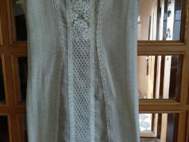 Lino/trikotažinio lino suknelė