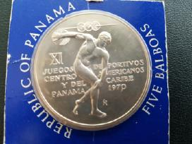 Panama 5 Balboa 1970m Ag Sportas