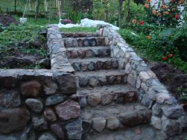 Viliaus lauko židiniai, akmens mūro darbai - nuotraukos Nr. 18