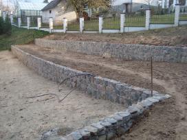 Viliaus lauko židiniai, akmens mūro darbai - nuotraukos Nr. 21