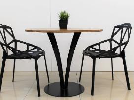 Virtuvės stalas, svetainės stalas, apvalus stalas. - nuotraukos Nr. 2