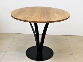 Virtuvės stalas, svetainės stalas, apvalus stalas. - nuotraukos Nr. 3
