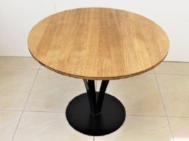 Virtuvės stalas, svetainės stalas, apvalus stalas. - nuotraukos Nr. 4