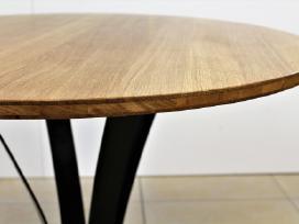 Virtuvės stalas, svetainės stalas, apvalus stalas. - nuotraukos Nr. 6