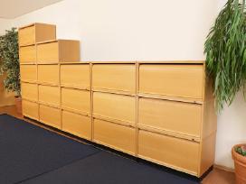 Biuro spintelės su žaliuzėm Švediški biuro baldai - nuotraukos Nr. 7