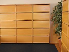 Biuro spintelės su žaliuzėm Švediški biuro baldai - nuotraukos Nr. 8