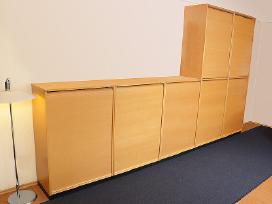 Biuro spintelės su žaliuzėm Švediški biuro baldai - nuotraukos Nr. 9