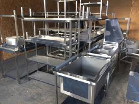Parduodame-gaminame nerūdijančio plieno baldus