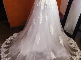 Nauja balta vestuvine suknele