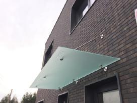 Stiklinis stogas / Stiklinis stogelis