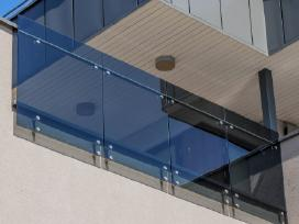 Stiklo turėklai / Lauko turėklai /Balkono turėklai