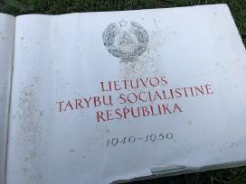 Albumas knyga Tarybu Lietuva 1940-1950m
