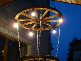 Vežimo ratas šviestuvas - nuotraukos Nr. 2