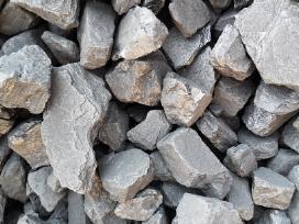 Akmens anglis, fasuota po 25 kg ir 1000 kg