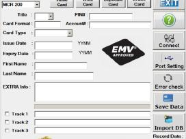 Emv V.8 Smart Card Chip Software to Read Write