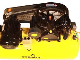 Oro kompresorius 2cilindrai/200l 1m garantija. - nuotraukos Nr. 2