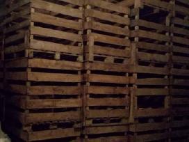 Medinės dėžės ir paletės/padėklai