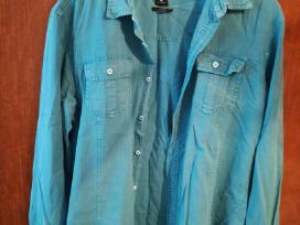 Vyriški mėlyni marškiniai Fsbn