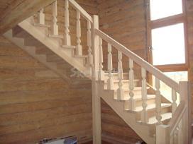 Parketo slifavimas-mediniu laiptu restauravimas - nuotraukos Nr. 3
