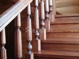 Parketo slifavimas-mediniu laiptu restauravimas - nuotraukos Nr. 2