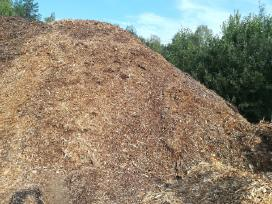 Smulkinta mediena. skiedros, biokuras - nuotraukos Nr. 2