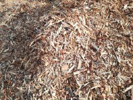 Smulkinta mediena. skiedros, biokuras