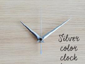 Sieninio laikrodžio mechanizmas su rodyklėmis