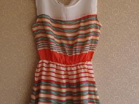 Dryžuota suknelė S