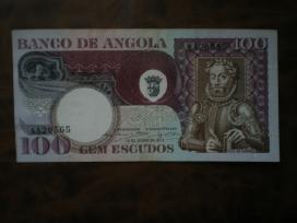 Angola 1973m.banknota 100 escudos