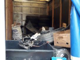 Išvežame šiukšles.griovimo darbai ardome namus - nuotraukos Nr. 13