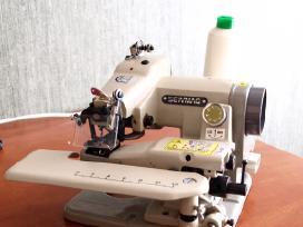 Paslepto dygsnio-apacios palankos siuvimo masina