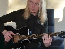 Jono -Thundertale- vokalo, gitaros pamokos