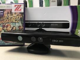Xbox 360 Kinect Kamera + žaidimas