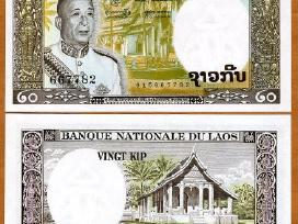 Laosas 20 Kip 1963m. P11 Unc
