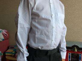 Next balti marškinukai 134cm