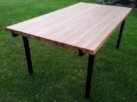 Naujas modernus valgomojo stalas (ąžuolas)
