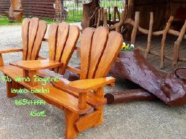 Įvairūs gaminiai iš ąžuolo medienos - nuotraukos Nr. 5