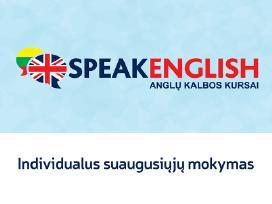 """Anglų kalbos kursai Panevėžyje - """"Speakenglish"""""""