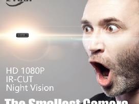 Mažiausia kamerytė Full HD 1080p nuo judesio