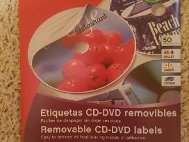 """CD-dvd etiketiniai lipdukai """"Apli"""""""