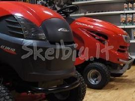 Naujos vejapjovės, traktoriukai, žoliapjovės