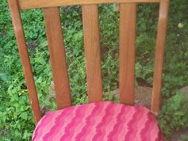 6 ąžuolinės kėdės