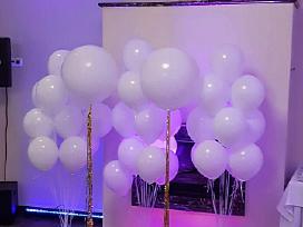 Helio balionai,led,nemokamas pristatymas